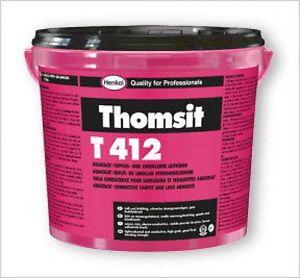 Thomsit T 412 Teppichkleber 14kg Teppichklebsto<wbr/>ff Bodenkleber