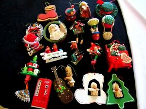 Japanese Christmas Tree Ornaments.Details About 20 Vtg Made In Taiwan Macau Japan Christmas Ornaments Lot Bobble Head Coca Cola