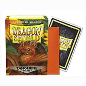 Matte Tangerine 100 ct Dragon Shield Sleeves Standard Size VOLUME DISCOUNT