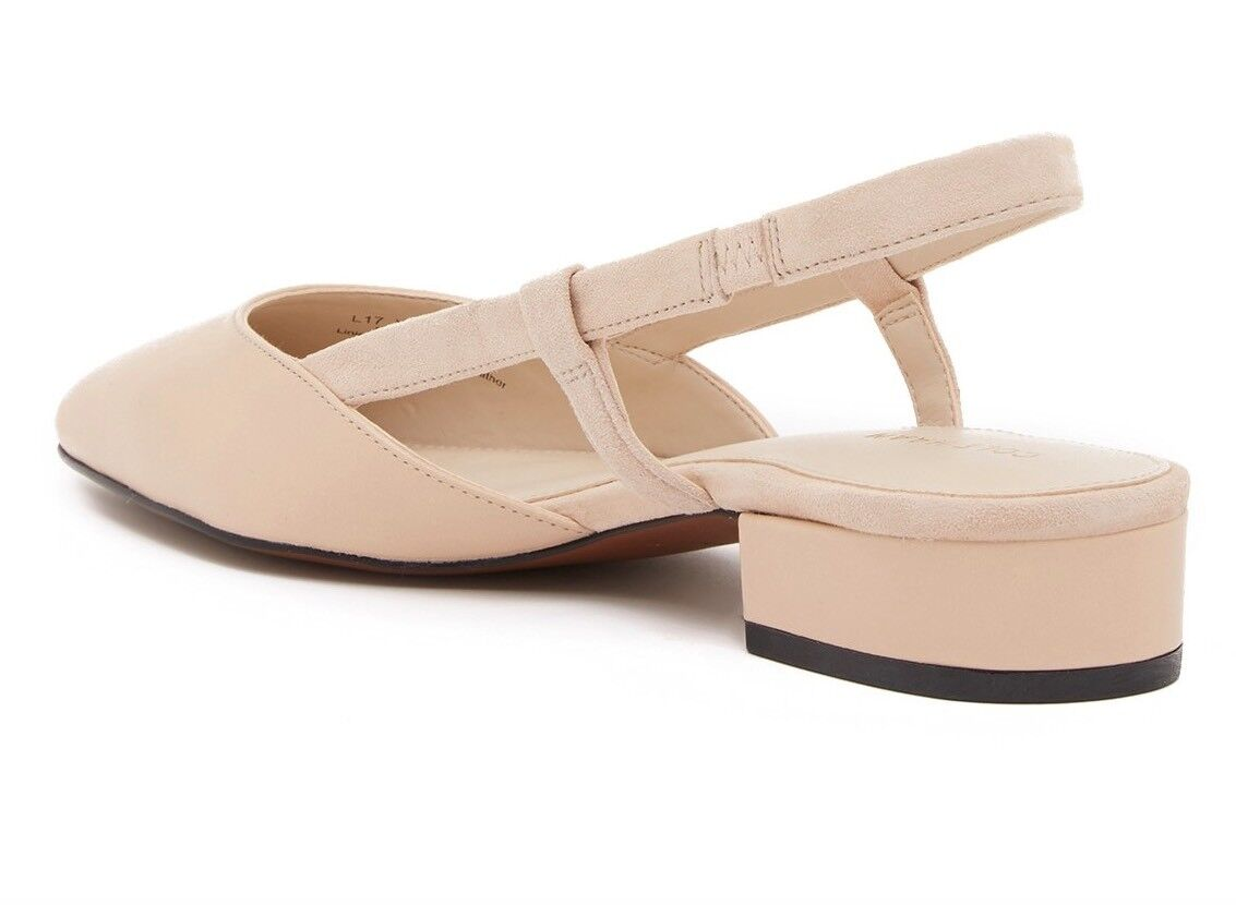 Cole Haan Lainey Slingback Skimmer II MSRP 160 in NUDE goes with everything