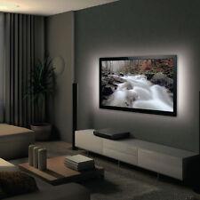2x 50cm Blanco Frío Tira de LED Luz Trasera De Tv-usb iluminación ambiental ambiental-Brillo Kit