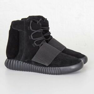c46a3f22d6b02 Image is loading Adidas-yeezy-boost-750-Triple-Black-BB1839-MEN-