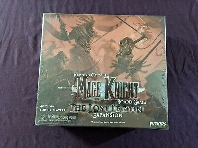 WZK70832 Mage Knight Board Game The Lost Legion Expansion Set