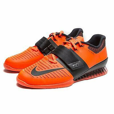 a916af41ba103 Nike Romaleos 3 Men Shoes Orange Neon Weightlifting 852933 801 ...