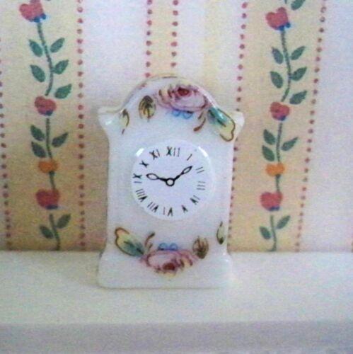1:12 Maison de Poupée Miniature-Stand//PENDULETTE-Neuf