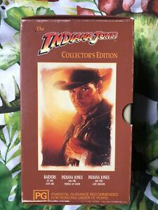 Indiana-Jones-Trilogy-VHS-Collection-Box-Set