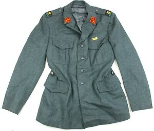 GENUINE-SWISS-ARMY-PARADE-DRESS-JACKET-with-BADGES-38-034-NO20