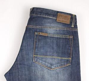 PME LEGEND Herren Gerades Bein Jeans Größe W38 L36 ATZ1480