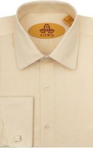 Robert-Lewis-Peach-Round-Collar-Dress-Shirt
