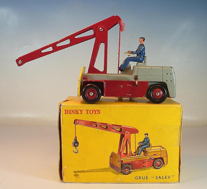 Dinky Toys France 50 GRUE SALEV Crane Crane-Kraan in O-Box