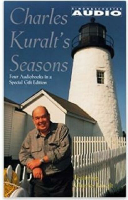 Charles Kuralt's Seasons complete boxed set of 4 audio cassettes