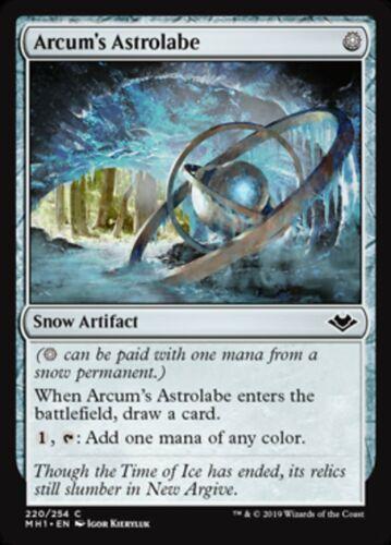 NM MTG Magic - C - Modern Horizons Arcum/'s Astrolabe