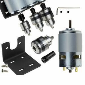 DC12-24V-10000rpm-775-Motor-Double-Ball-Bearings-Mini-PCB-Hand-Drill-Press-Chuck