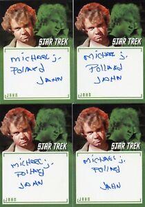 Star-Trek-TOS-Archives-amp-Inscriptions-LE-autograph-A17-Michael-J-Pollard-034-Jahn-034
