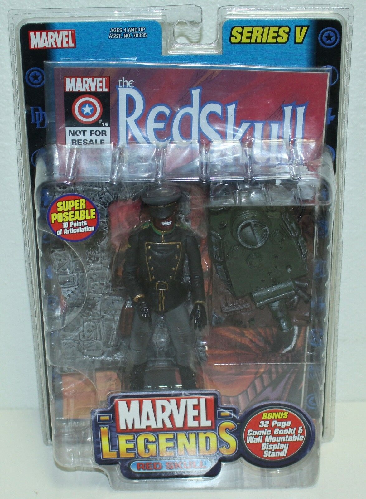 Marvel Legends Chase Red Skull 6  Action Figure New In Box Very Rare Hail Hydra