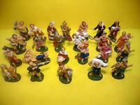 24 soggetti Pastore cm 4 Euromarchi Napoli San Gregorio Natale Presepe Natività