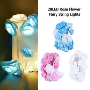 20-LED-Rose-Flower-Fairy-String-Lights-Valentine-Wedding-Room-Holiday-Decoration