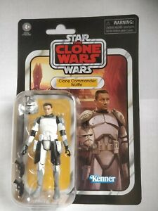 Star Wars The Vintage Collection - The Clone Wars - Clone Commander Wolffe