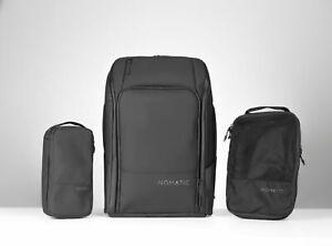 Nomatic - The Ultimate Travel Backpack Bundle - Black