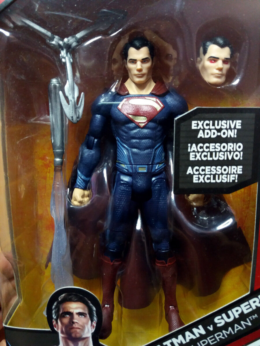 Batman Vs Superman Multiverse Superman 6 Pulgadas Figura figure add on
