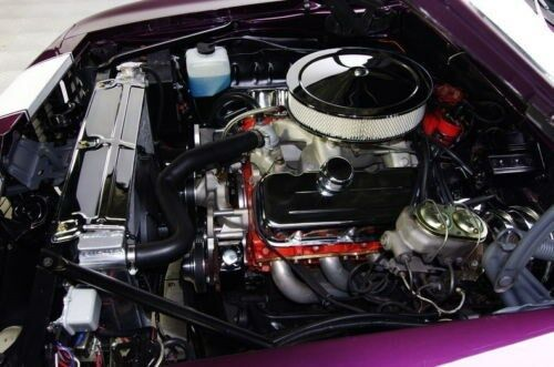 1967 1968 1969  Camaro//Firebird 3 Row Aluminum RR Radiator Small Block Engine