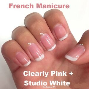 Bluesky French Manicure Stuido White Clearly Pink Duo