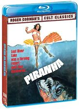 Piranha (Blu-ray Disc, 1978) Original Classic   Heather Menzies   BRAND NEW