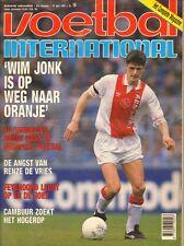 V.I. 1992  nr. 16 - HUGO BROOS & CLUB BRUGGE/WIM JONK/ED DE GOEY/CAMBUUR