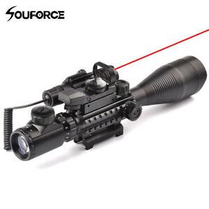 4-16X50EG-Rifle-Scope-Holographic-Dual-Illuminated-Dot-Sight-Red-Laser-Sight