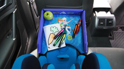 Disney Child Car Seat Tray Storage Kid/'s Toy Holder Desk Stroller Board