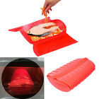 Microwave Oven Steamer Food Steamer Silicone Cooking Bowl Fish Vegetable 2colors