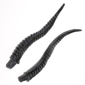 Holy Antelope Horns Hair Headpiece Headband Ornament DIY Accessory 18 inches