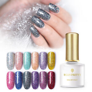 BORN-PRETTY-6ml-Glitter-UV-Gel-Nail-Polish-Shiny-Sequined-Soak-Off-DIY