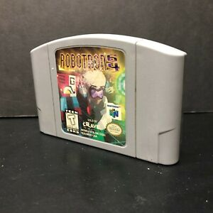 Robotron-64-Video-Game-Nintendo-N64-1998-Used-amp-Tested
