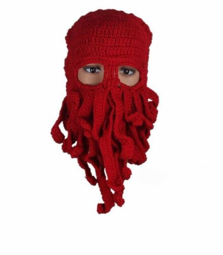 OctopusSquid Snowboarding beanie Red