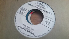 Ernestine Anderson 45 You, You, You/There are Such Promo Female Jazz Vocal