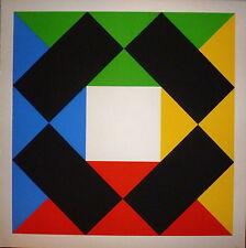 Max Bill sérigraphie art cinétique abstraction art abstrait