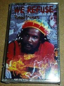 Pablo-Moses-We-Refuse-MC-1990-OVP-Sealed-Reggae-Cassette-Tape