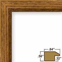 Craig Frames Economy Brown, Simple Hardwood Poster Frame
