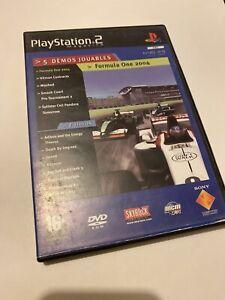 ????Jeu Playstation 2 Ps2 le magazine démo 49 formula one mashed splinter cell