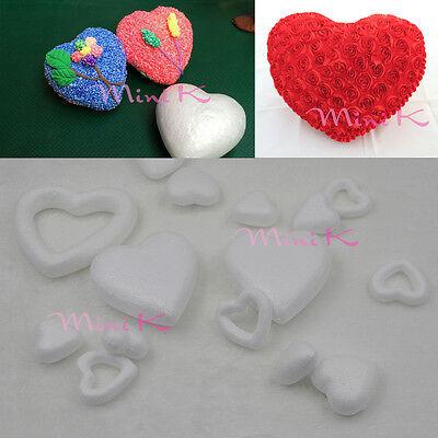 Handmade Foam Heart Polystyrene Styrofoam DIY New Decorations Party Accessory