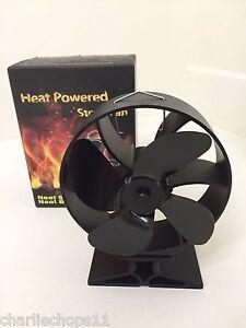 how to make a wood burner fan