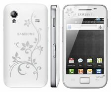 Samsung Galaxy Ace gt-s5830i LaFleur pure white blanco s5830 sin bloqueo SIM nuevo