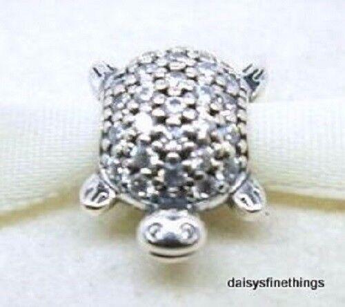 c71e901b5 Authentic PANDORA Silver Sea Turtle Charm - 791538CZ for sale online | eBay