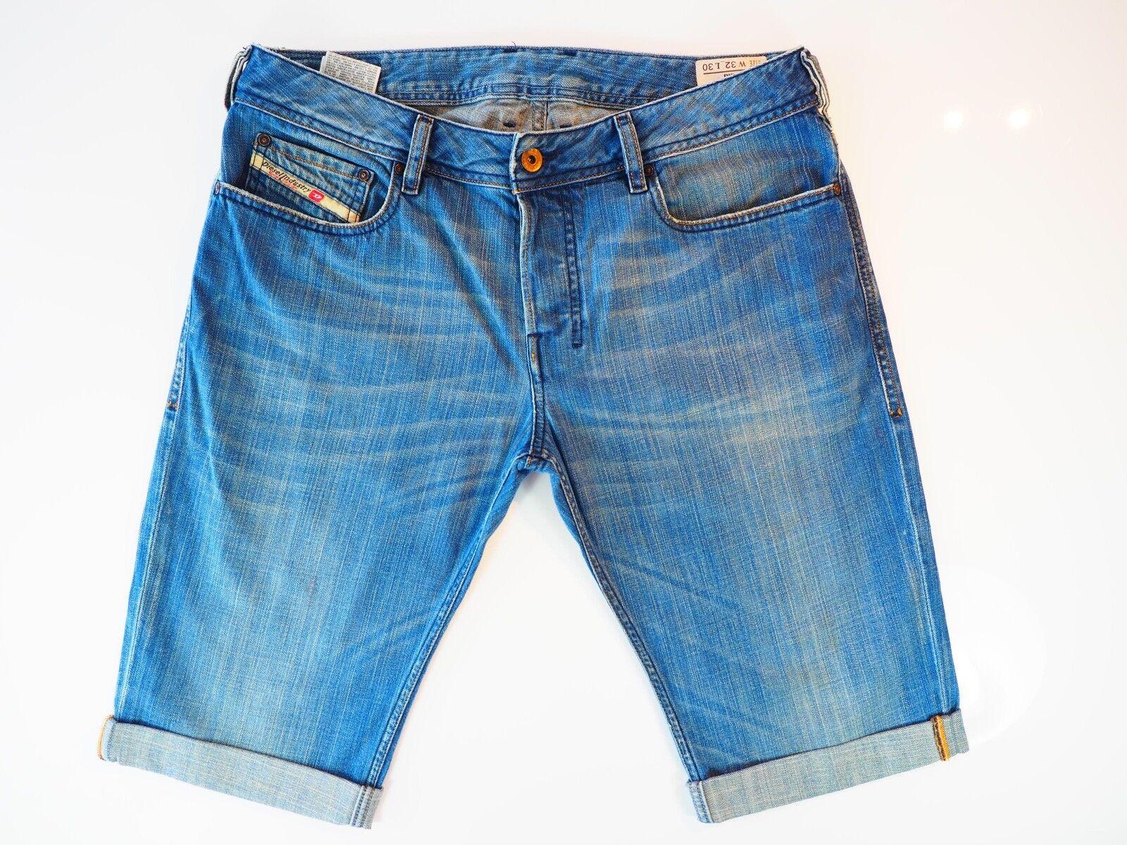 Diesel Zathan Jeans  Diesel Denim Shorts W32 Excellent Condition 008J6 32W