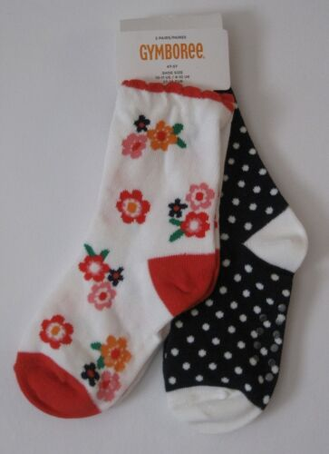Gymboree Girls Socks New 4T-5T Various Lines Fits Shoe Sizes 10-11 Nwt