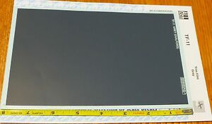 Microscale Decal #TF-13 Trim Film Brown FS 10091 sheet measures aprox.4-1//2 x 7/""
