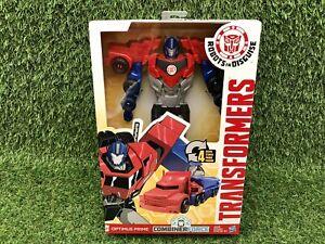 Transformers Robots in Disguise Optimus Prime 4 étape changeur B2666-Hasbro NOUVEAU
