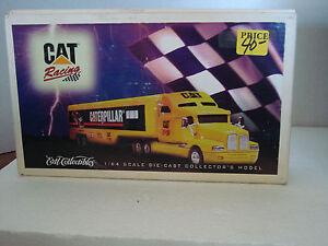 ERTL-COLLECTIBLES-CAT-RACING-SIMI-DIECAST1-64