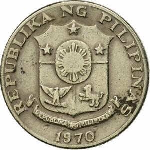 [#548119] Coin, Philippines, 10 Sentimos, 1970, VF(20-25), Copper-nickel, KM:198